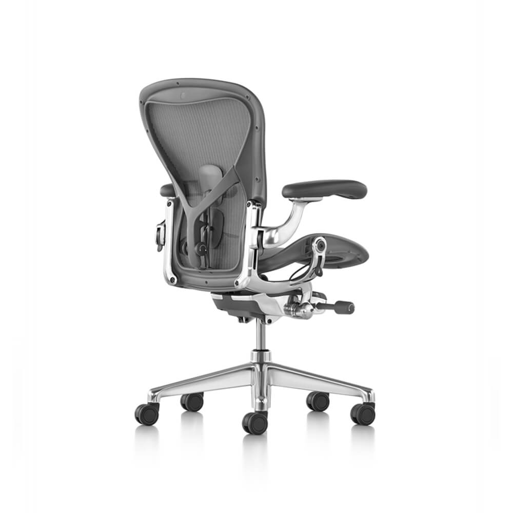 Herman Miller Aeron 2 Carbon Polished