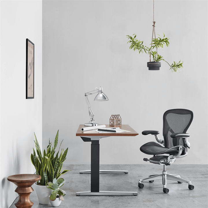 Herman Miller Aeron 2 Graphite Polished