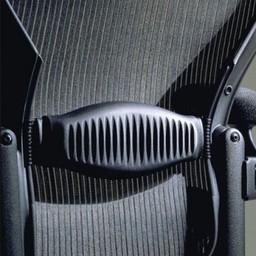 Herman Miller Aeron Lumbar, maat A, B of C