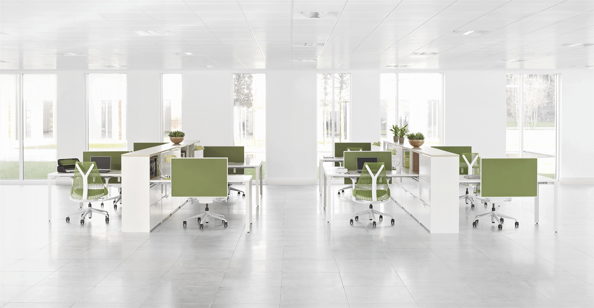 Herman Miller Sayl Apple Green